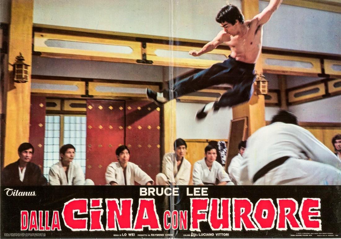 R1973 Bruce Lee Fists of Fury Style C Italian fotobusta
