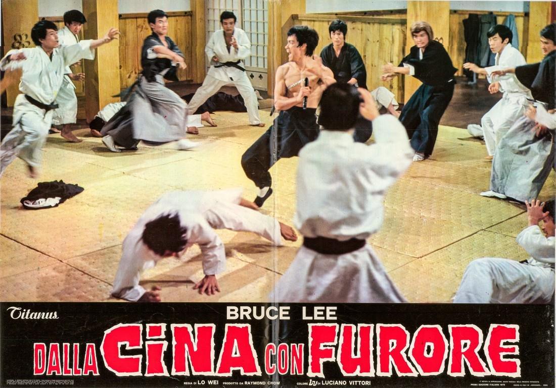 R1973 Bruce Lee Fists of Fury Style B Italian fotobusta