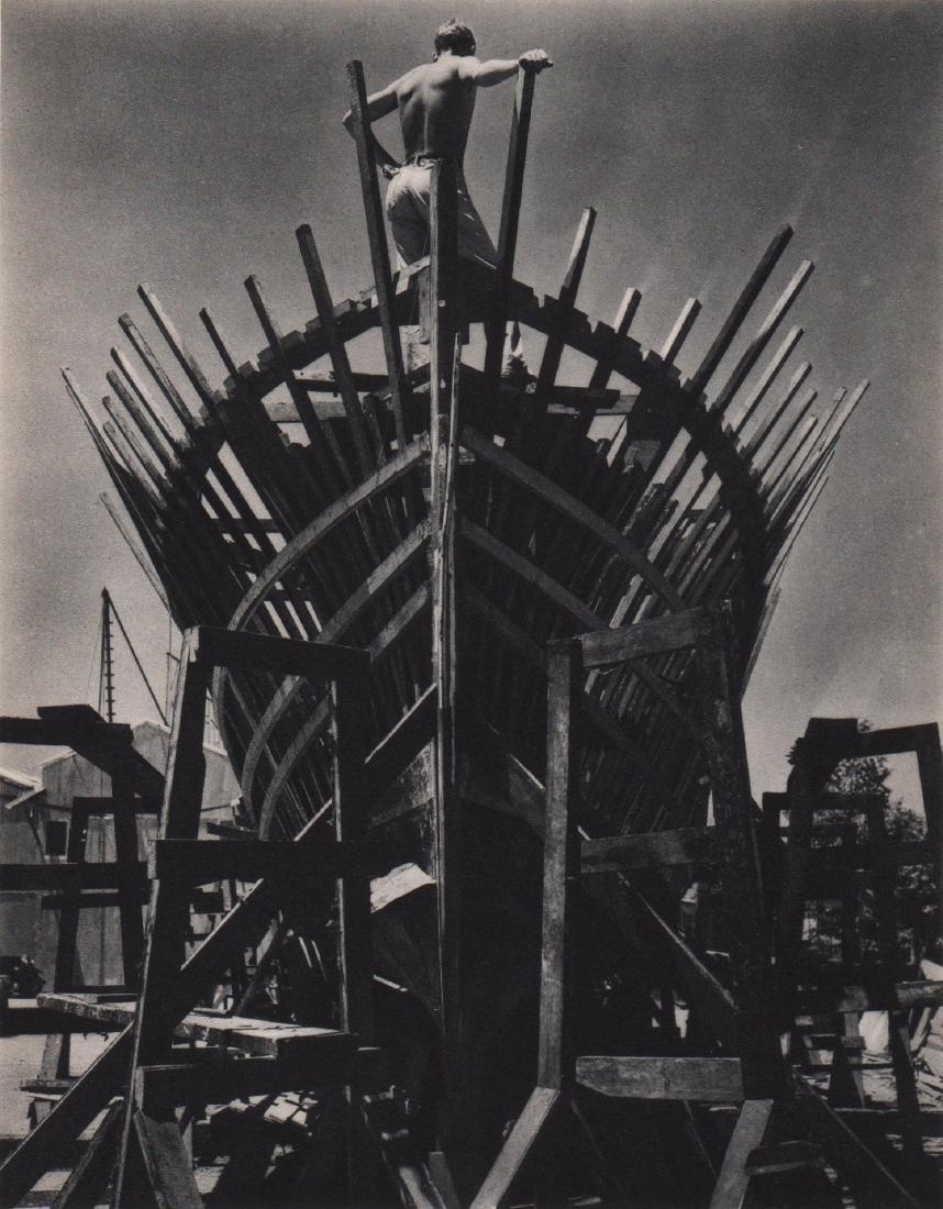 Edward Weston - Shipbuilder Gravure