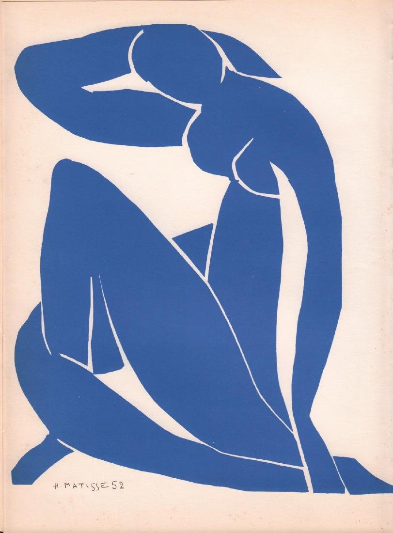 Henri Matisse Artwork 1958 Color Lithograph
