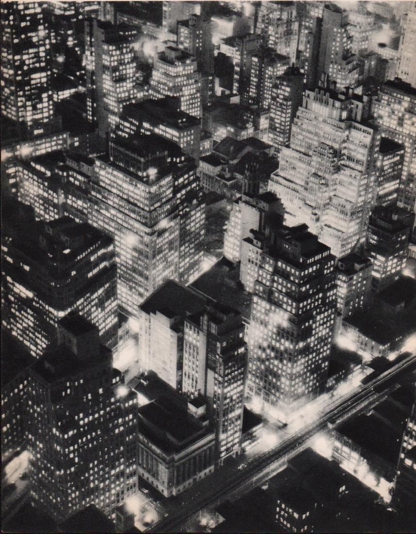 Berenice Abbott - New York at Night  Gravure