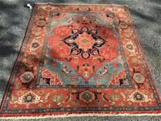 Beautiful Hand Woven Persian Serapi Rug 5x6
