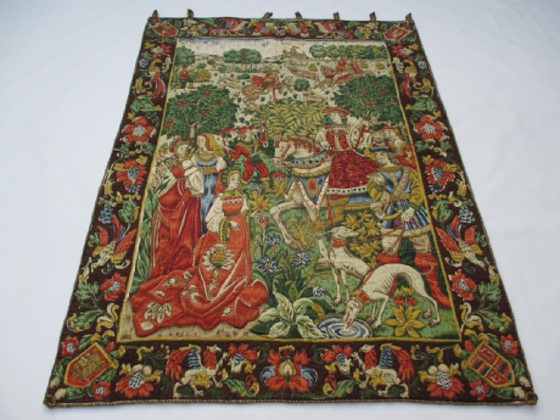 Stunning French Tapestry 4.10x3.7
