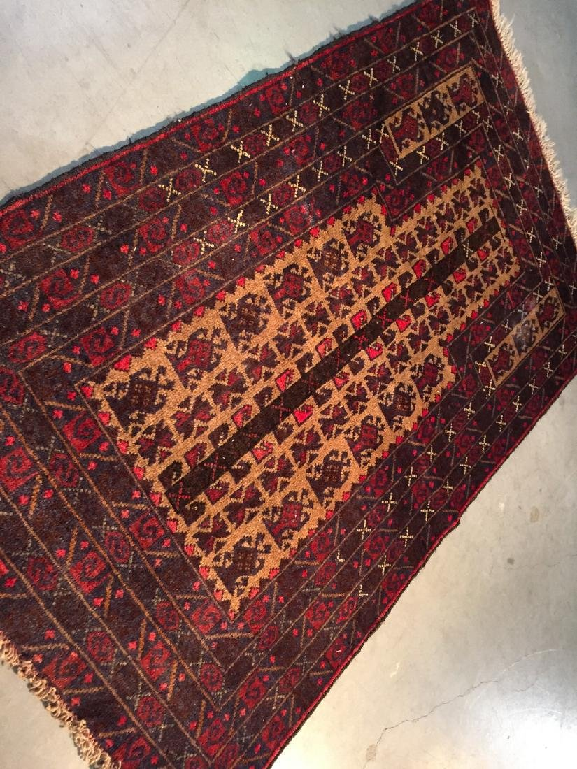Hand Knotted Prayer Rug 3x5 - 2