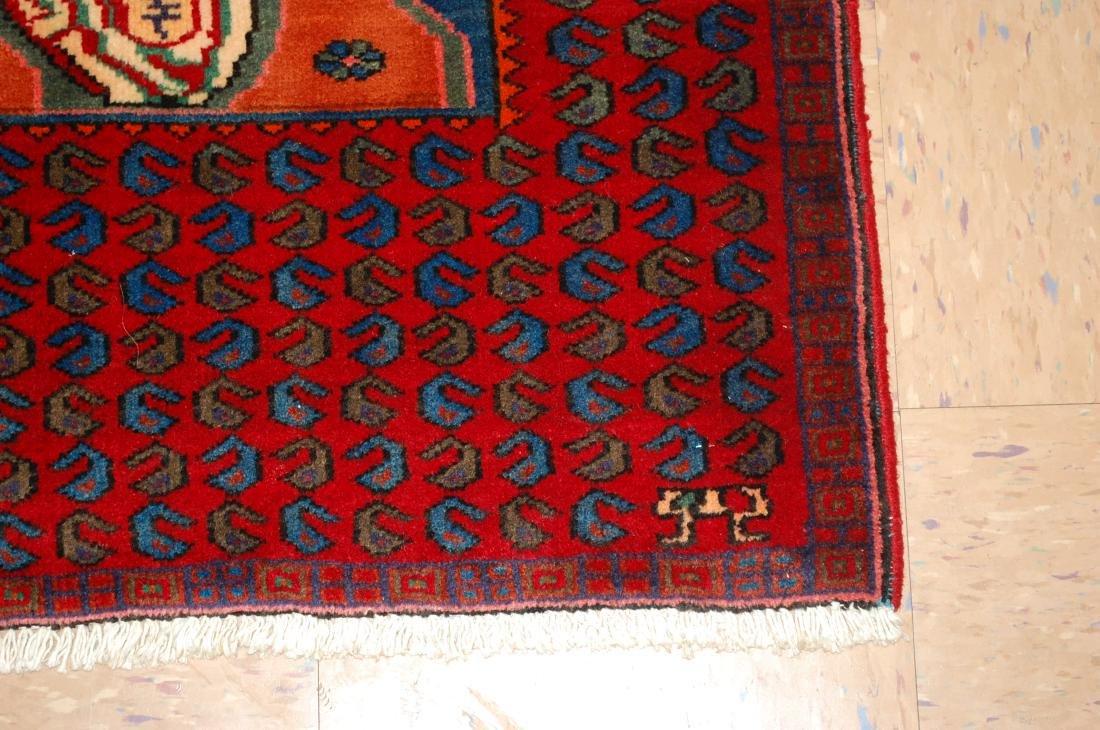 Pictorial Avicenna Detailed Persian Tabriz Rug 2.7x3. 2 - 2