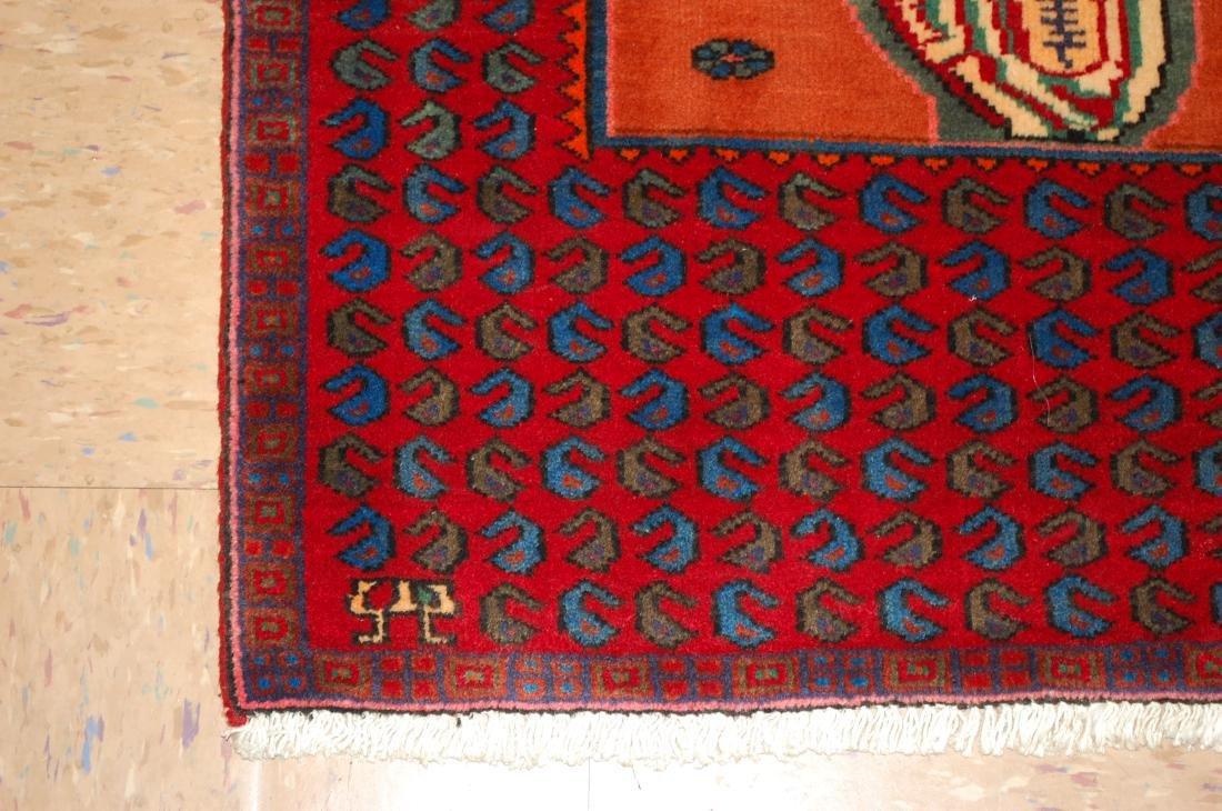 Pictorial Avicenna Detailed Persian Tabriz Rug 2.7x3. 2 - 3