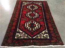 Authentic Tribal Wool Persian Rug 3.3x5