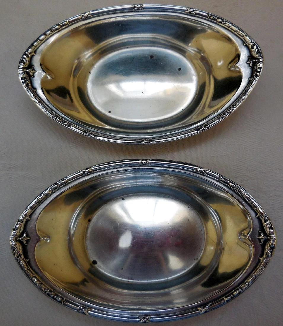 Pair of Dominick & Haff Sterling Silver Nut Dishes - 3