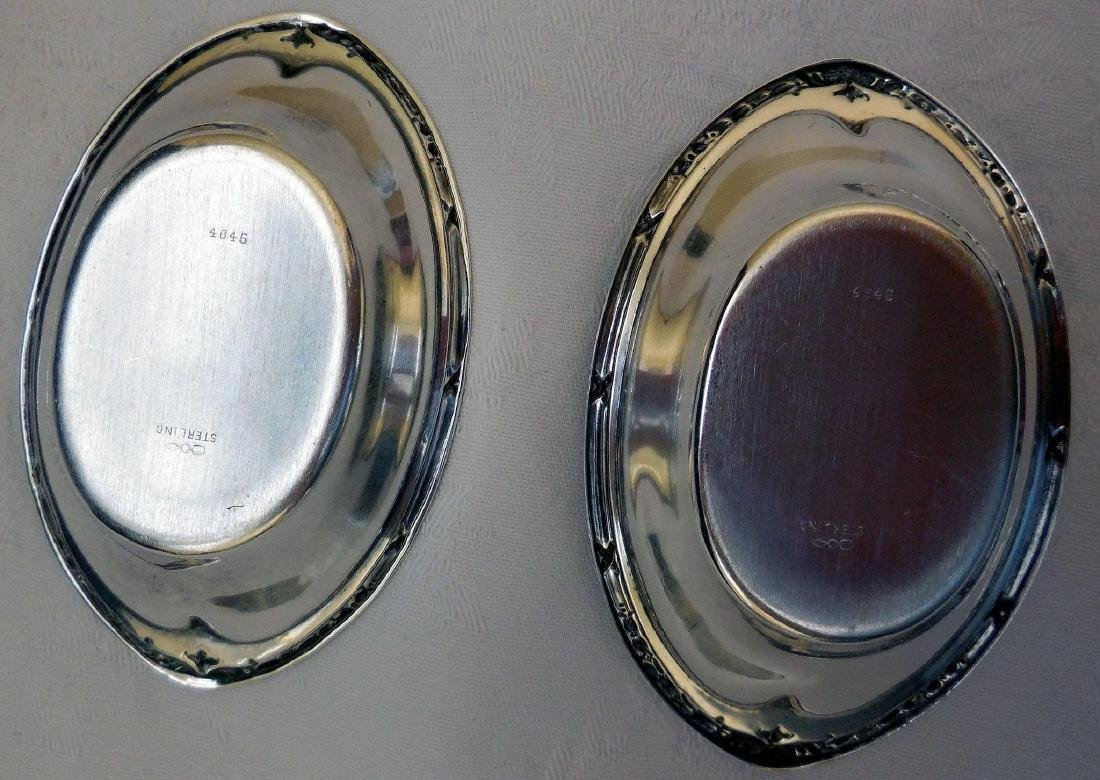 Pair of Dominick & Haff Sterling Silver Nut Dishes - 4