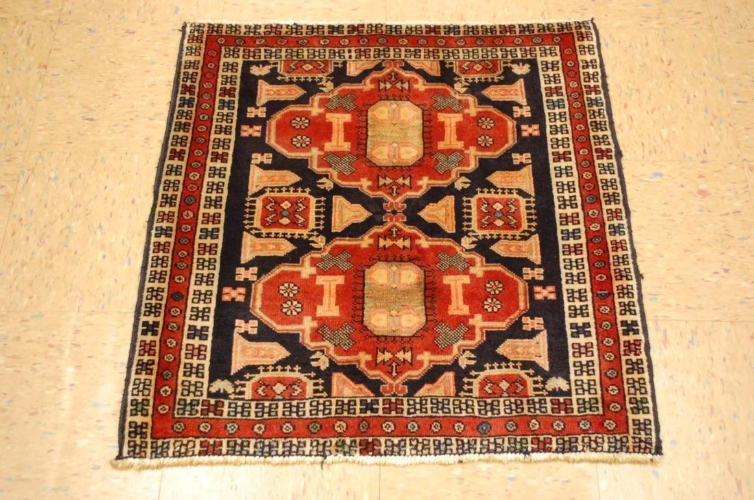 Caucasian Kazak Design Caucasian Rug 2.7x2.9