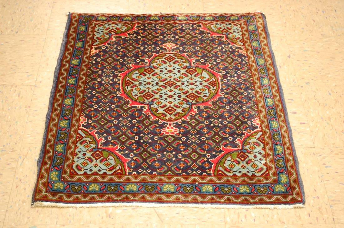 Caucasian Kazak Shirvan Design Runner Rug 2.8x3.4