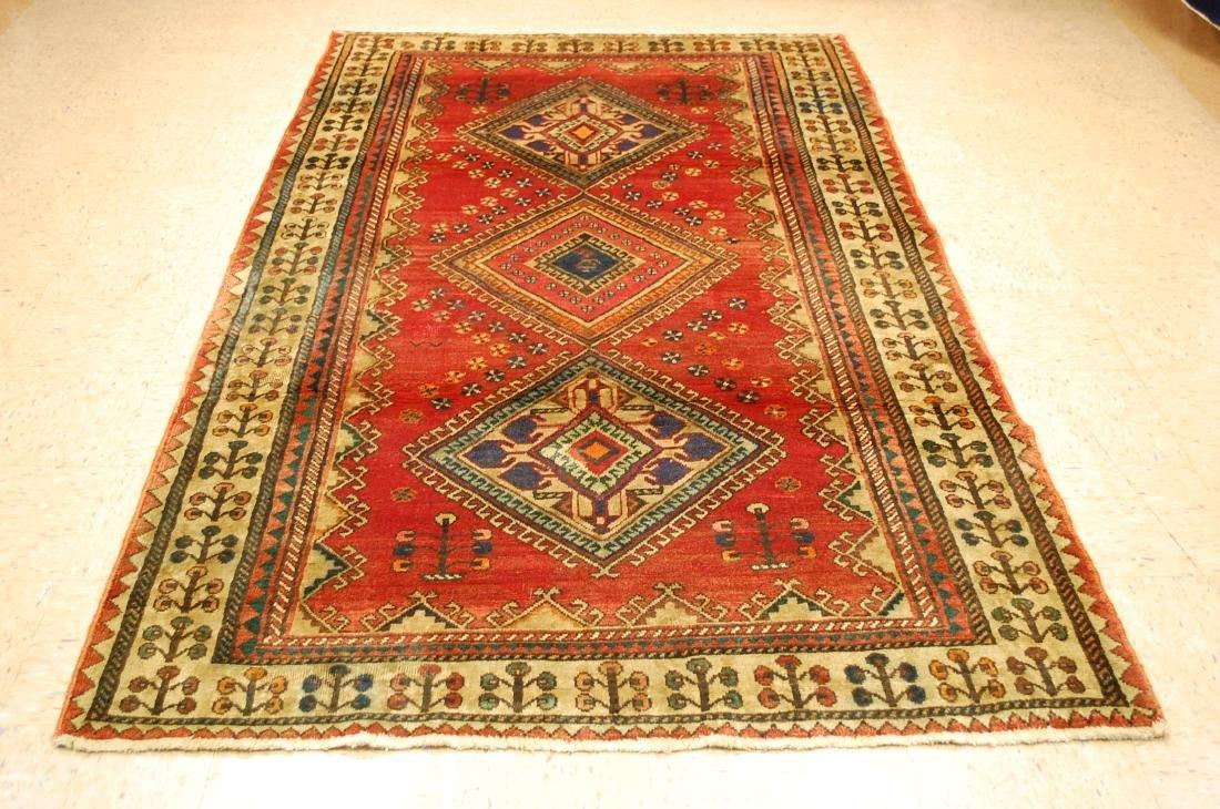 Persian Sarouk Rug 5x9.3
