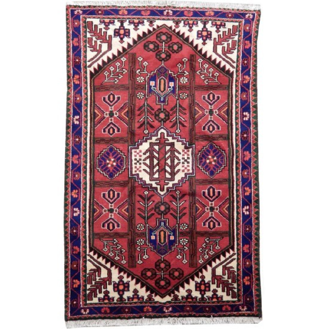 Vintage Authentic Persian Hamadan Rug 3.1x5