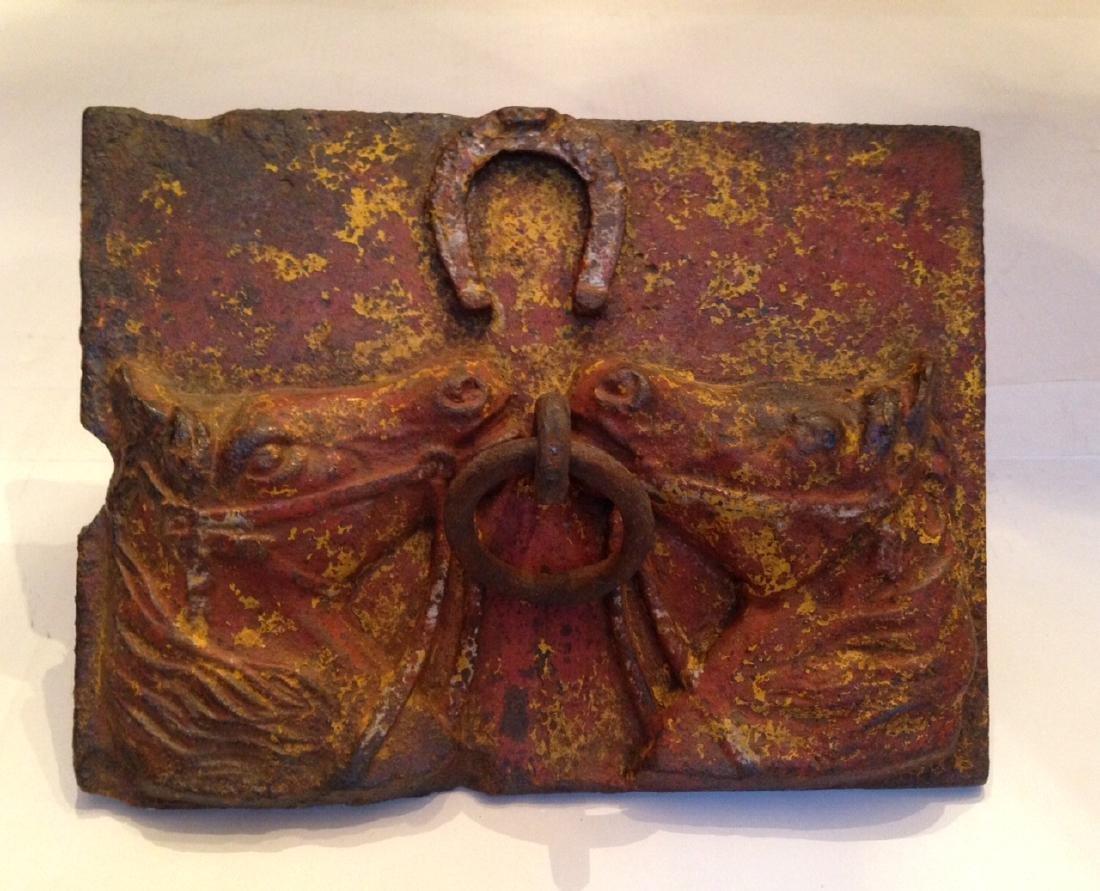Rare Find - 19th Century Cast Iron Horse Hitch