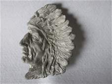 Native American Indian Chief Tray