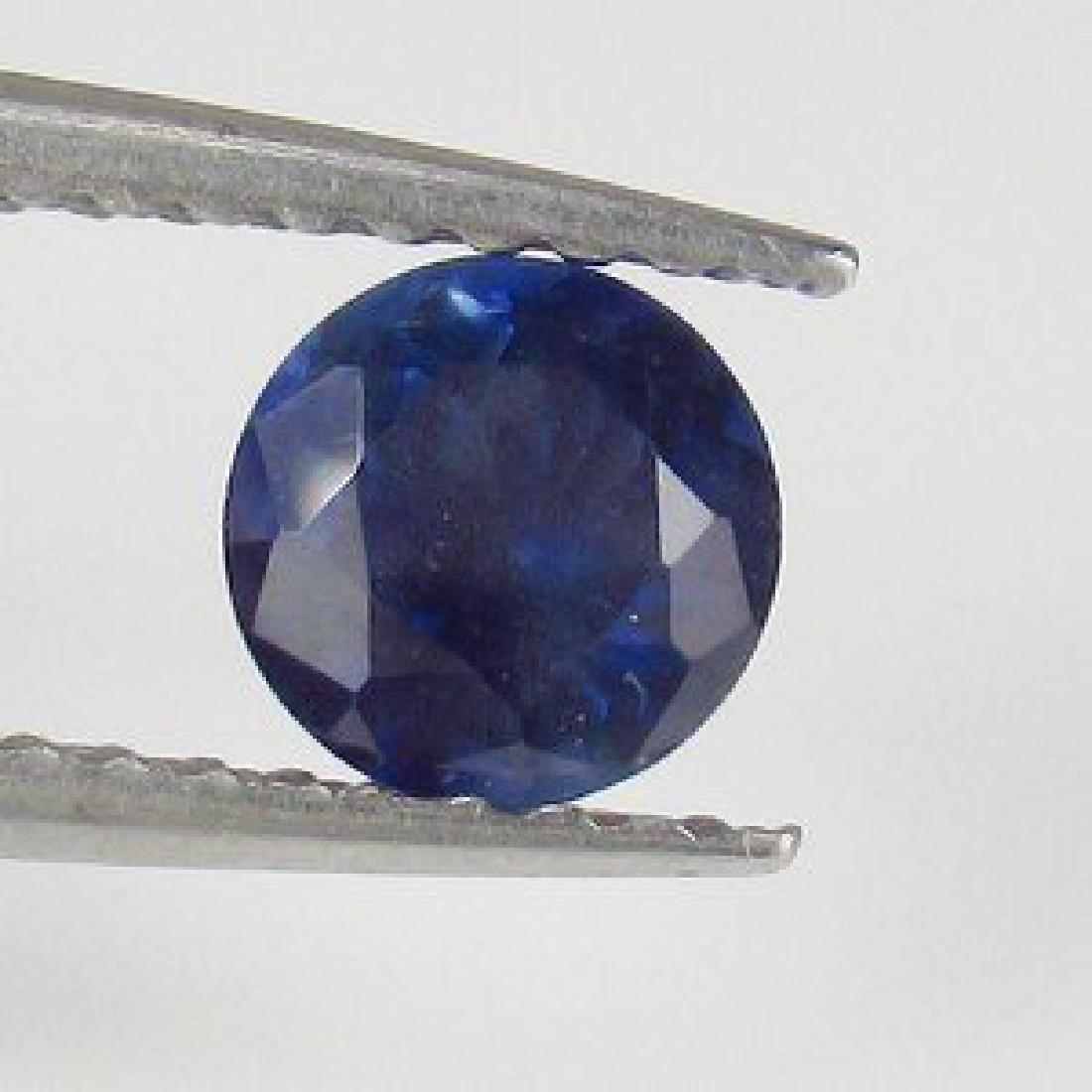 0.67 Carat Loose SriLanka Deep Blue Sapphire