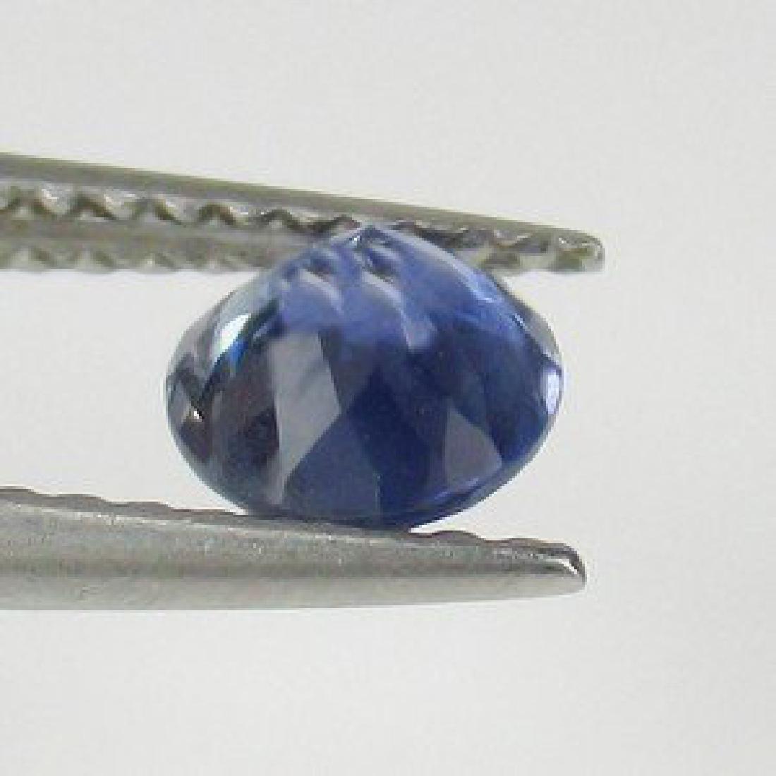 0.67 Carat Loose SriLanka Deep Blue Sapphire - 2