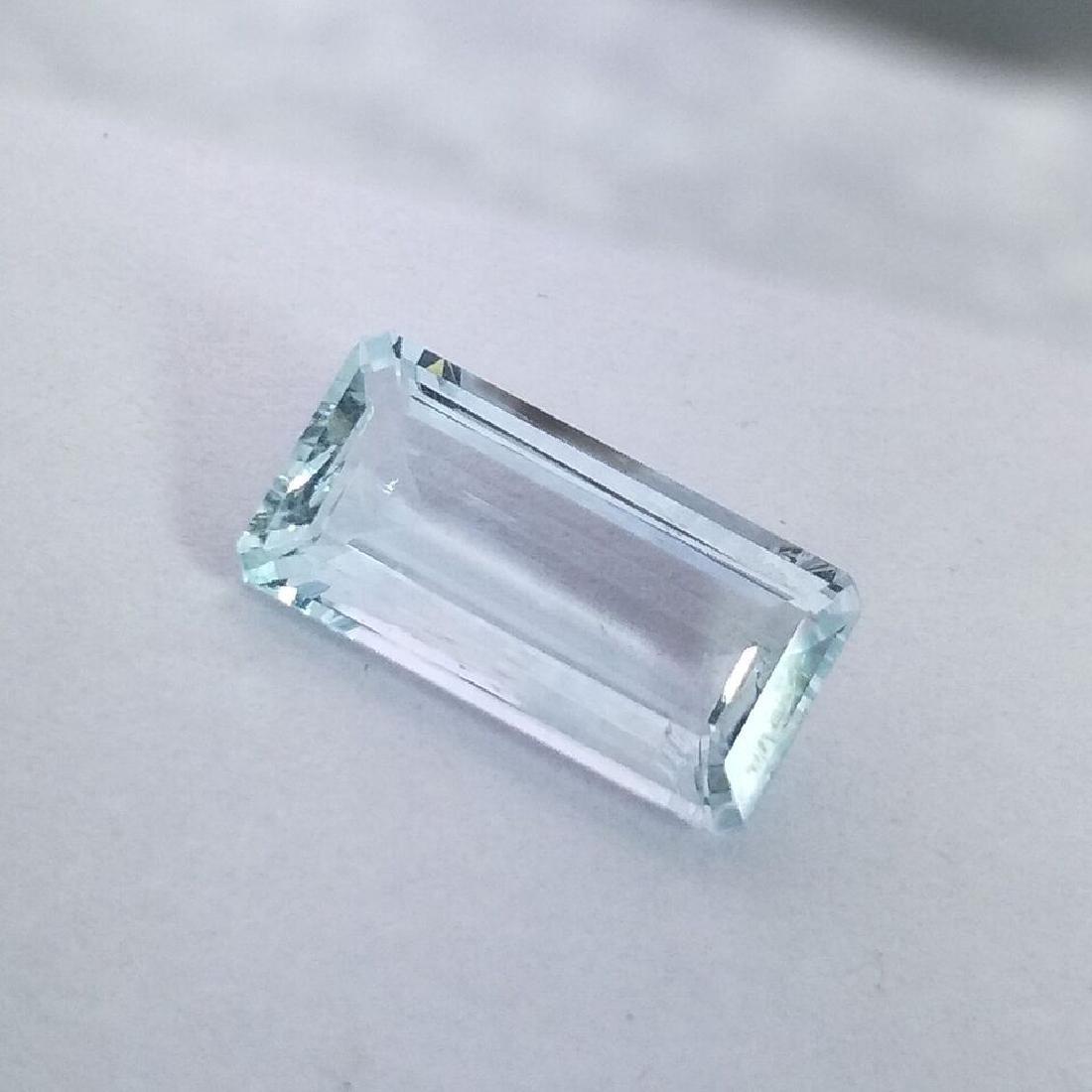 Aquamarine - 3.46 Carat Loose