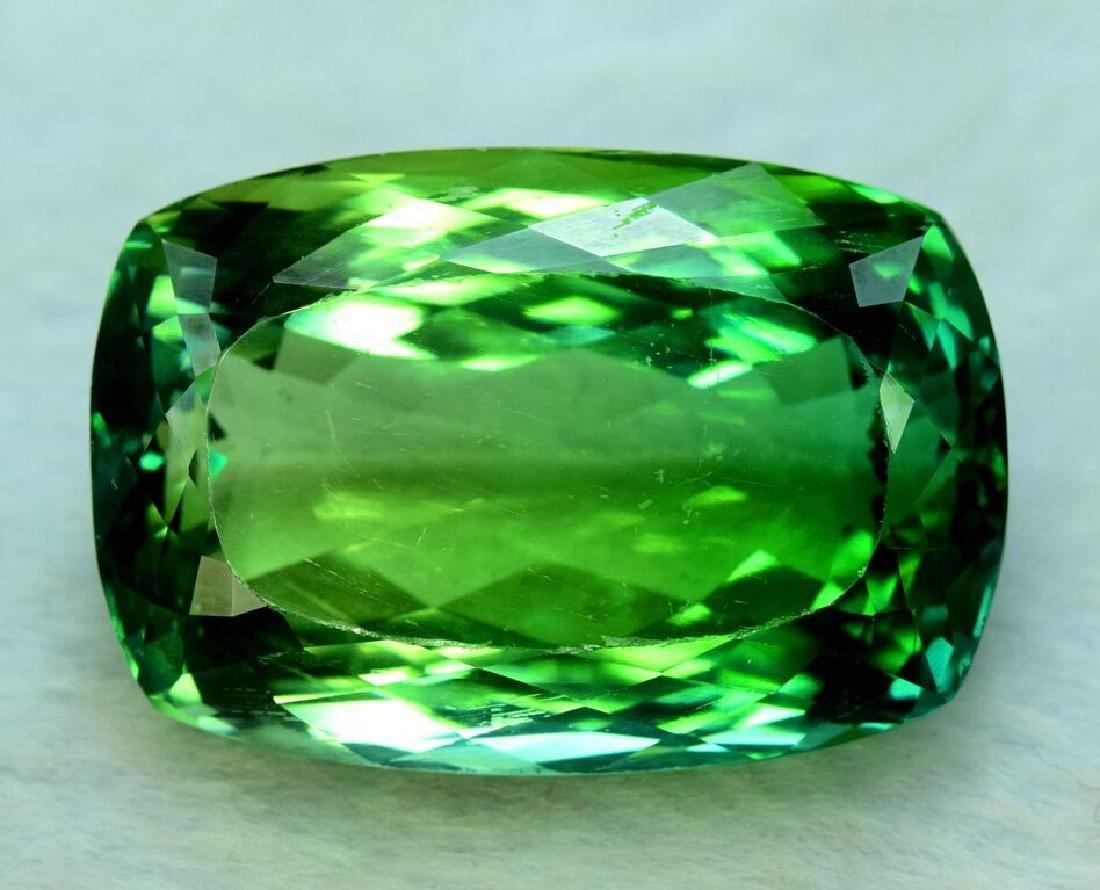 130.20 Carat Flawless Lush Green Kunzite Loose