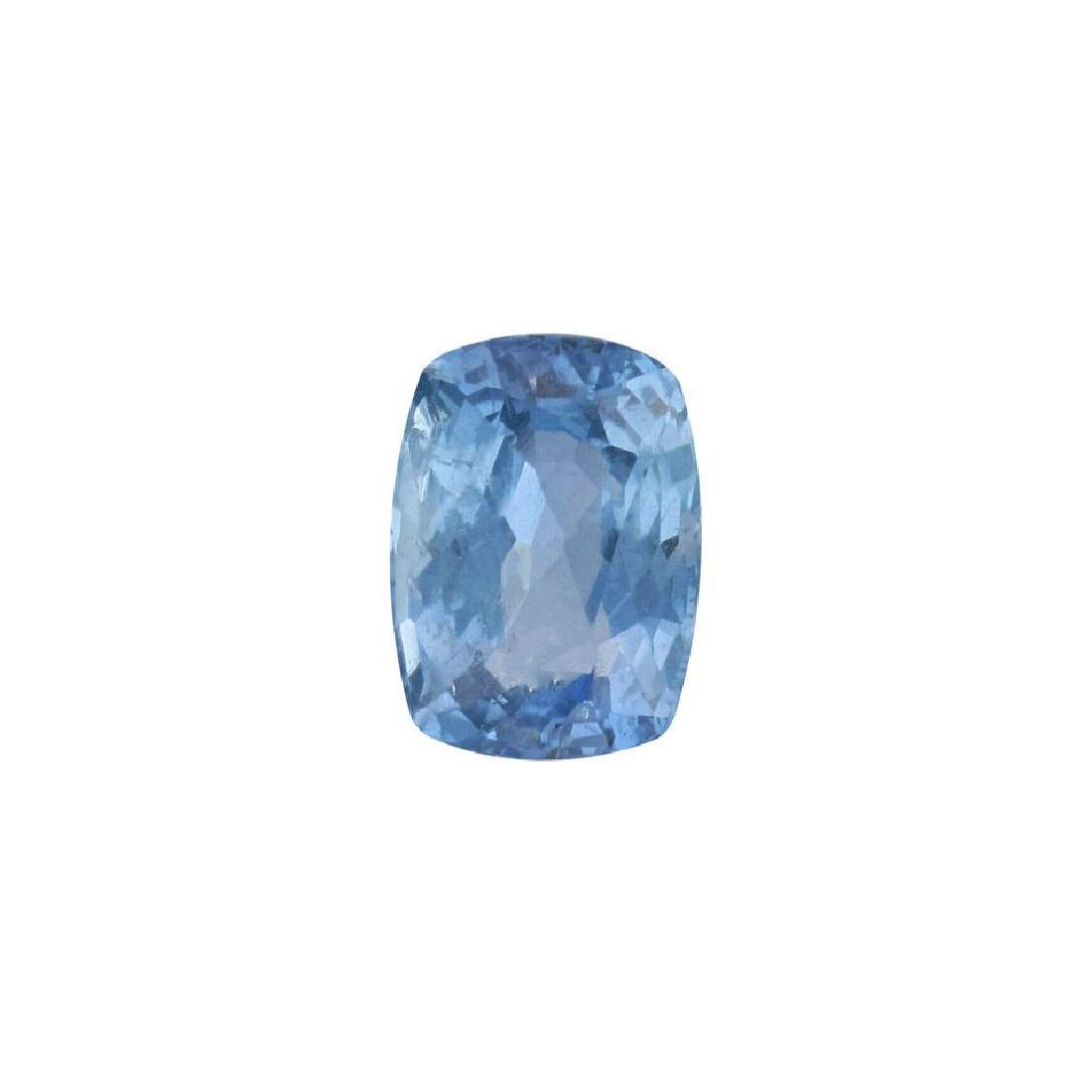 2.76ct UNHEATED Blue Sapphire Loose (GIA CERTIFIED)