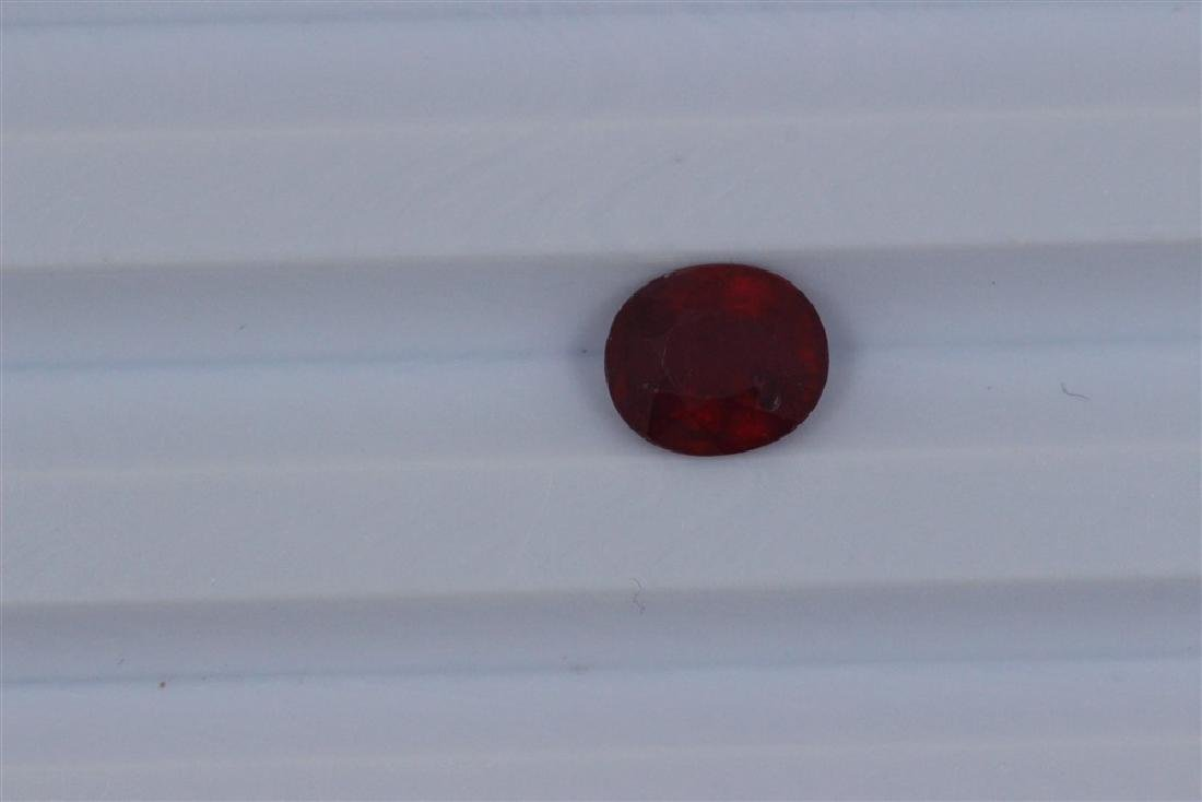 2.16ct Loose Ruby Oval cut