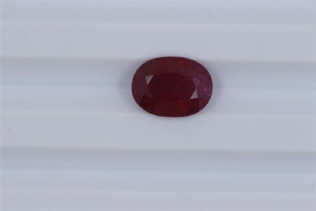 4.7ct Loose Ruby Oval cut