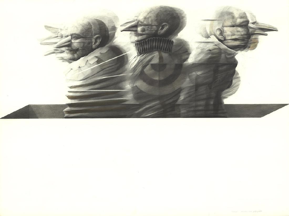 Joseph Piccillo Drawing Study (1973)