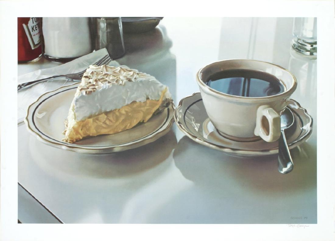 Ralph Goings Lithograph Cream Pie
