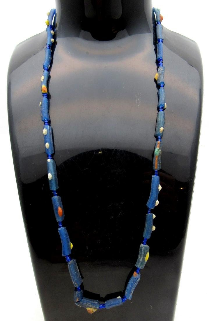 Medieval Viking Era Necklace with 26 Glass Beads