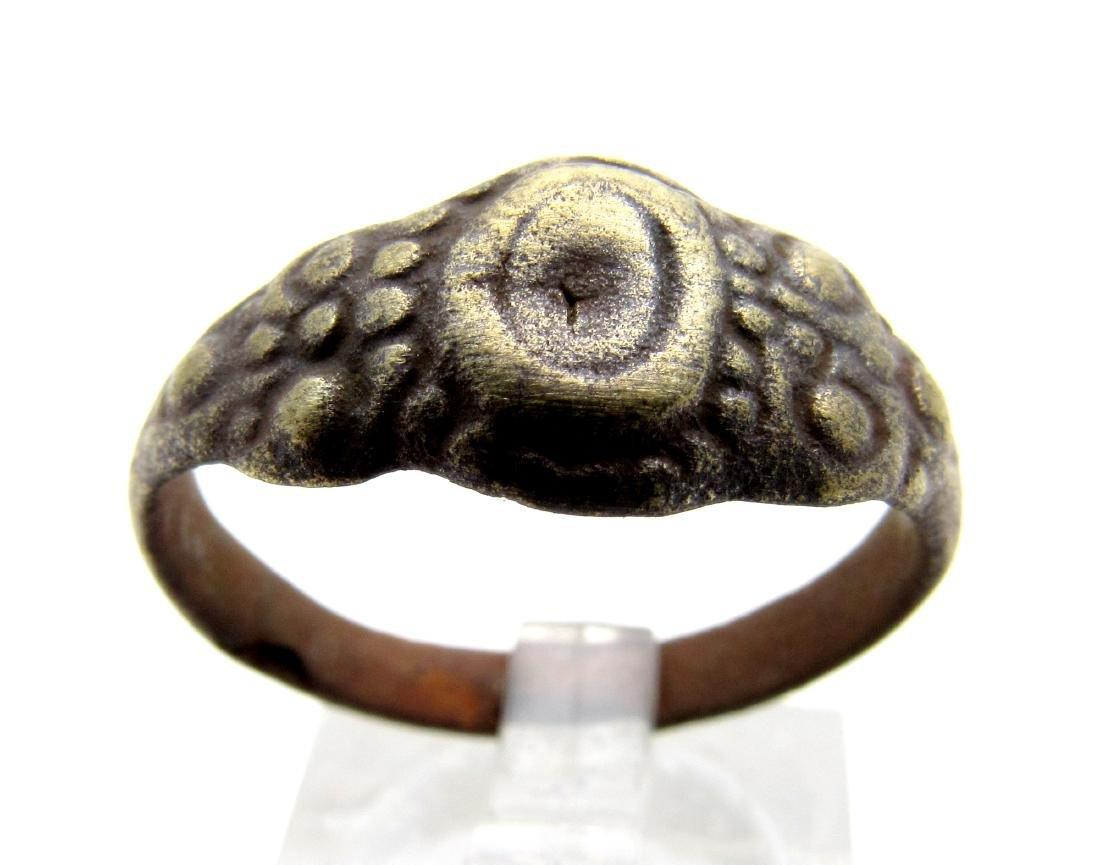 Late Medieval Tudor Bronze Wedding Ring