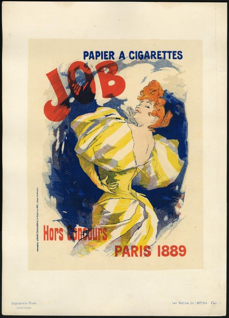 Original Ju Cheret Lithograph Maitres de L'Affiche 1