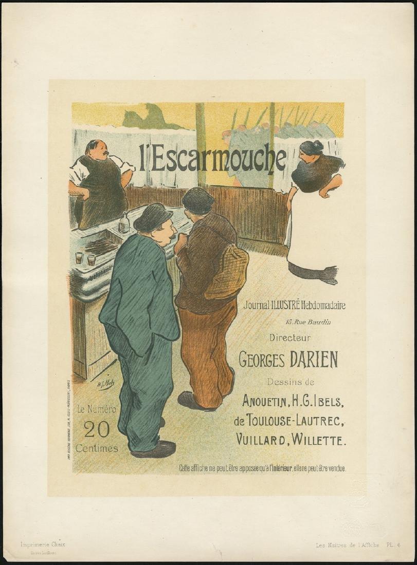 Original Henri Ibels Lithograph Maitres De L'affiche 6