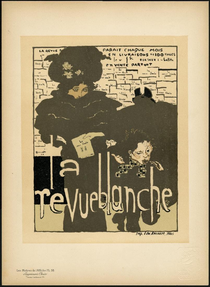 Original P. Bonnard Lithograph Maitres de L'Affiche 38