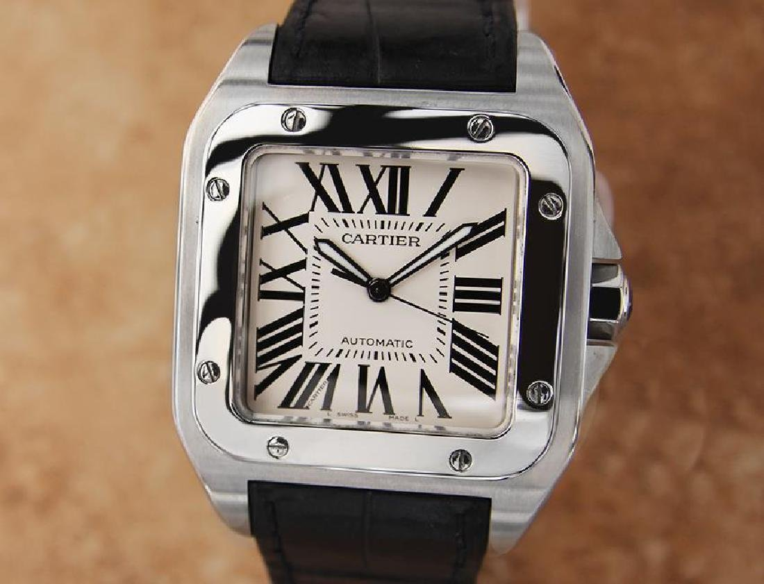 Cartier Santos 100 Jumbo Stainless St 39mm Automatic