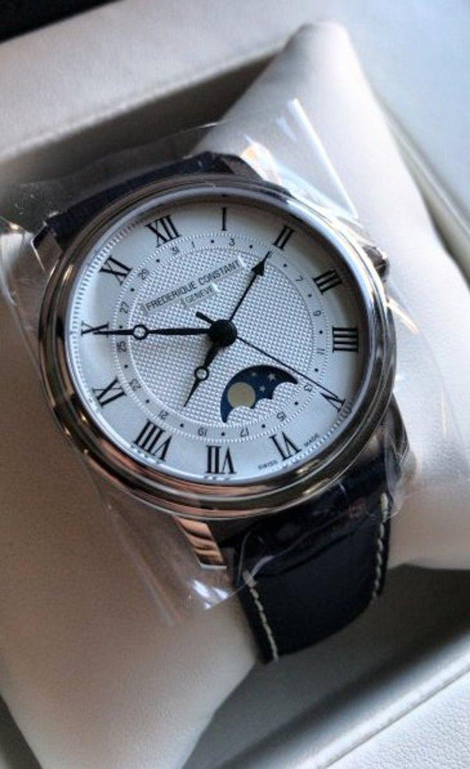 Frederique Constant Men's Moonphase Automatic Watch
