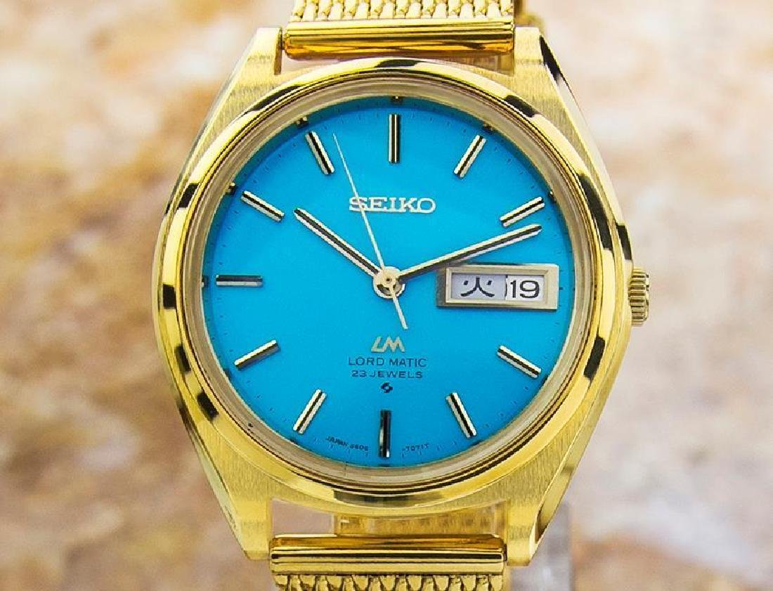 Stunnig Seiko Lordmatic LM Automatic 23 JEWELS Made in