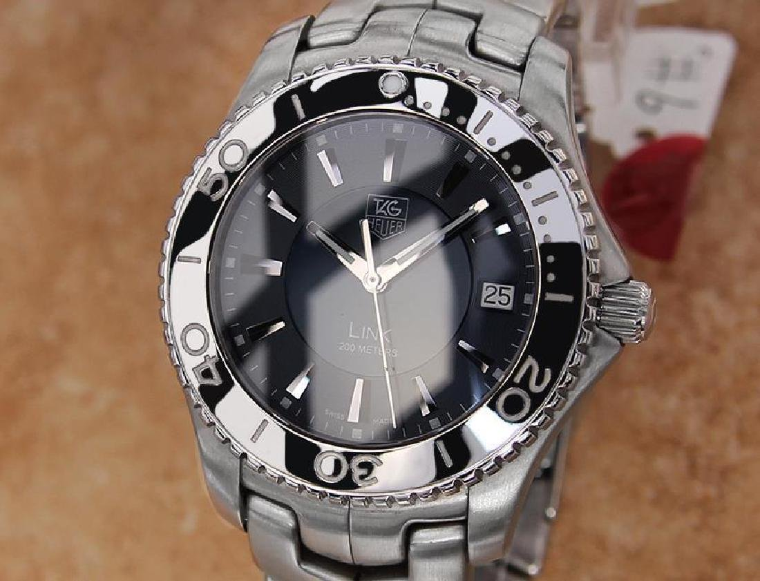 Tag Heuer Link Swiss Made Men's 39mm Quartz Stainless