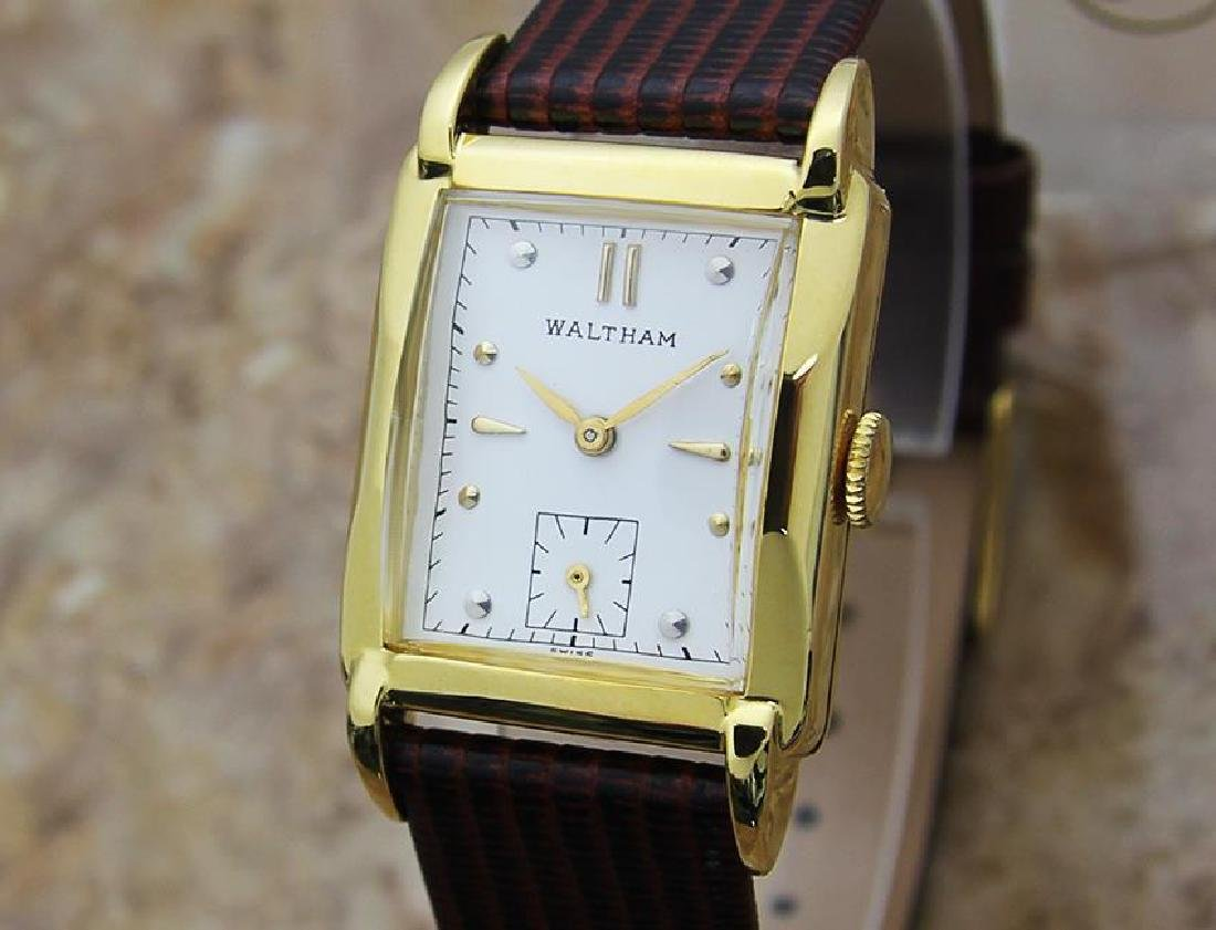 Waltham Swiss Made 1940s Men's Gold Filled Manual