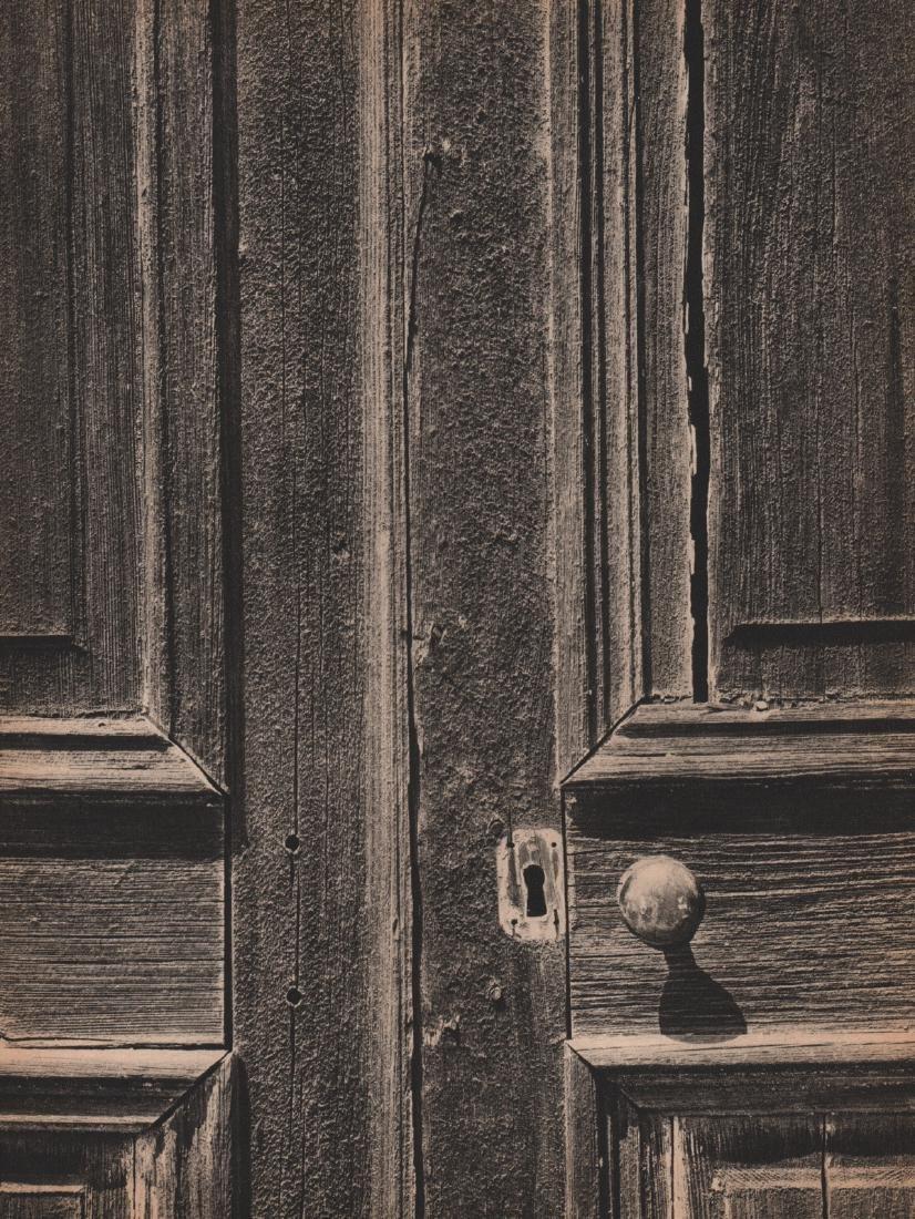 ANSEL ADAMS - Weathered Door