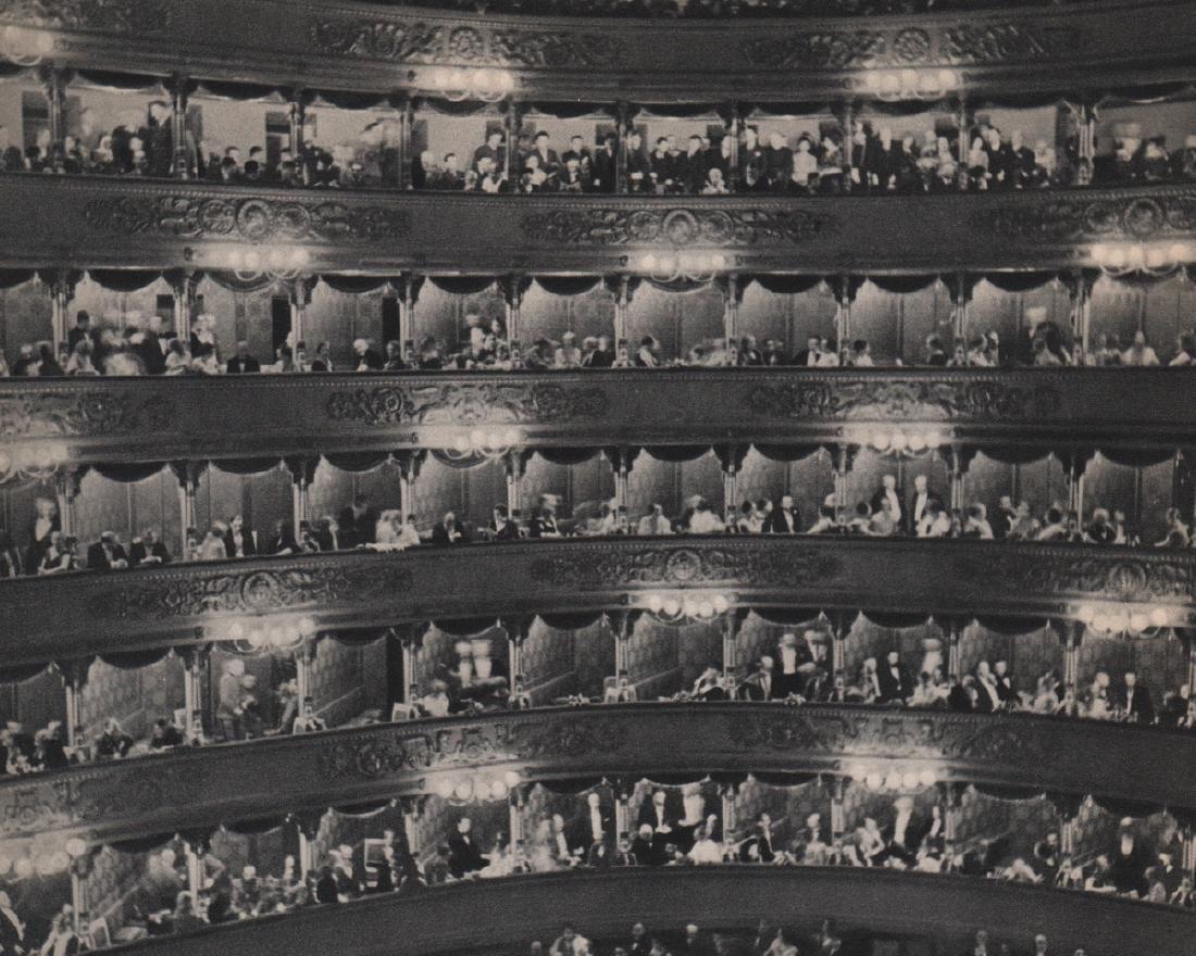 ALFRED EISENSTAEDT - La Scala of Milano