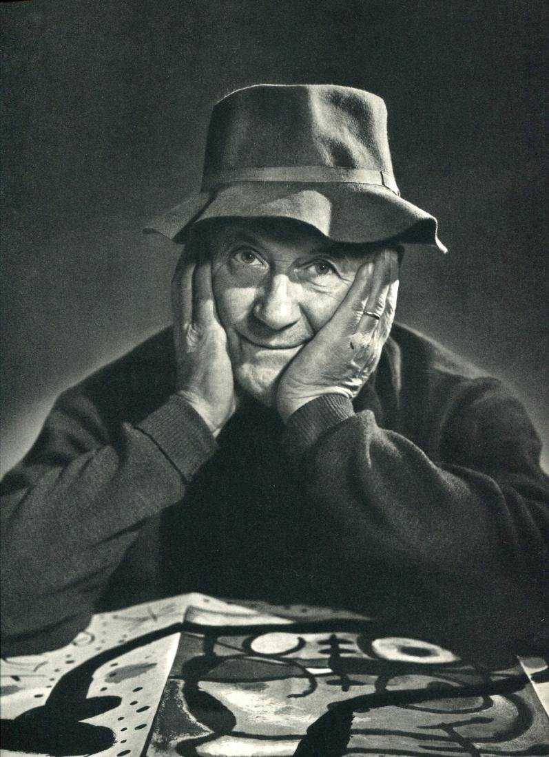 YOUSUF KARSH - Joan Miro