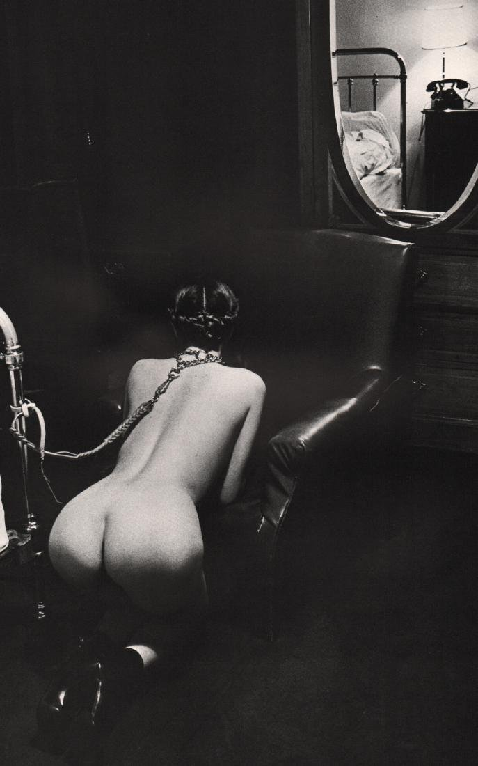 HELMUT NEWTON - Hotel Room, Paris 1976