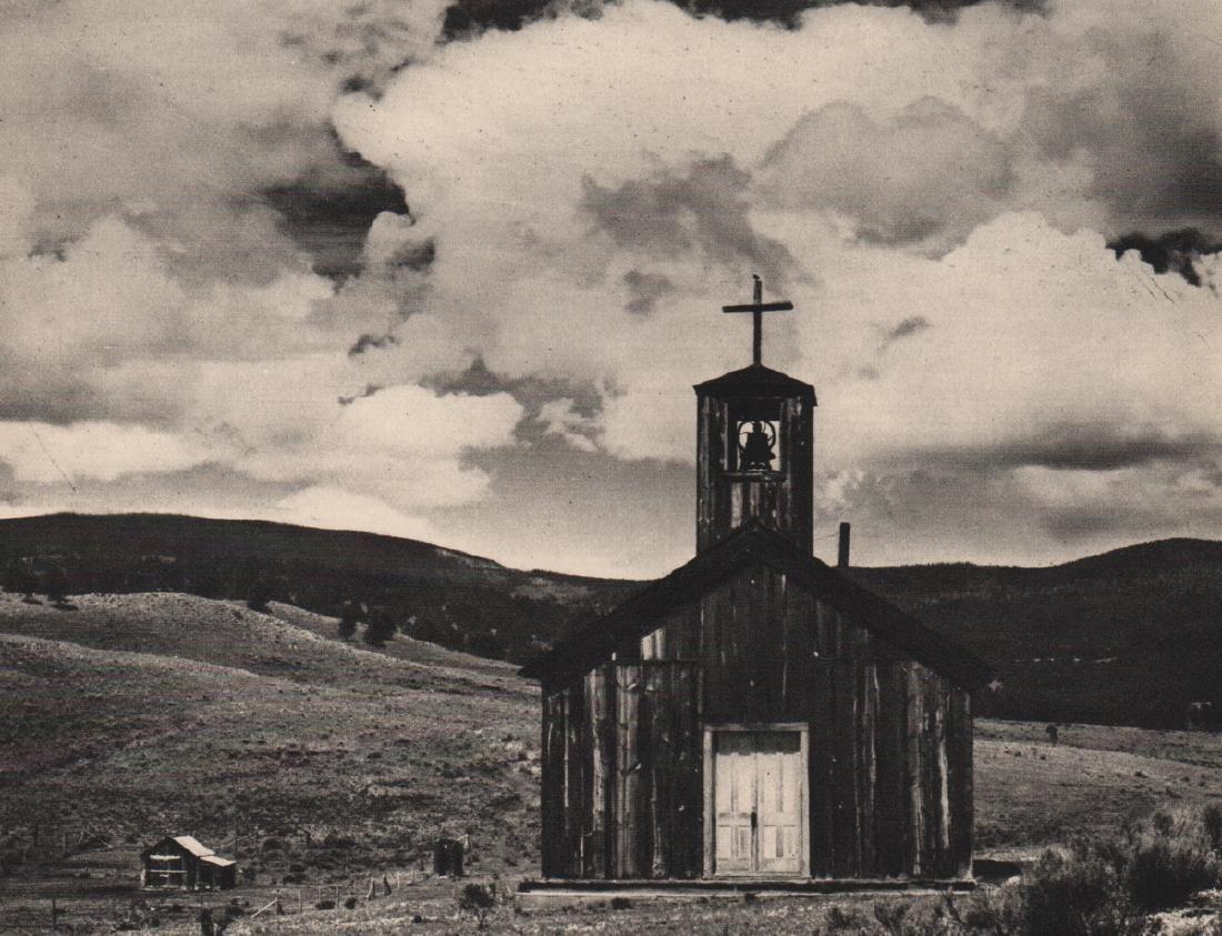 "EDWARD WESTON - Church at ""E"" Town"