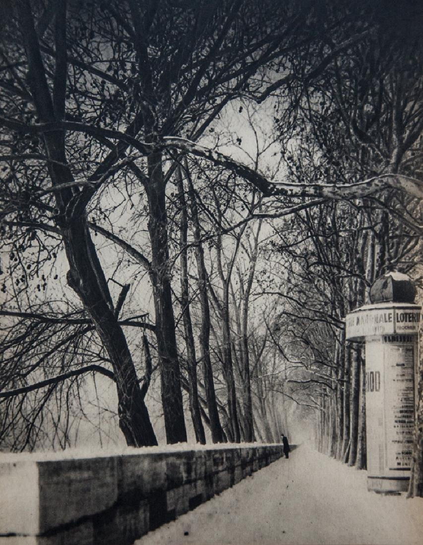 REMY DUVAL - Snow Along The Seine, Paris