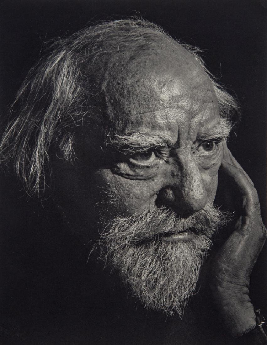YOUSUF KARSH - Augustus John, painter