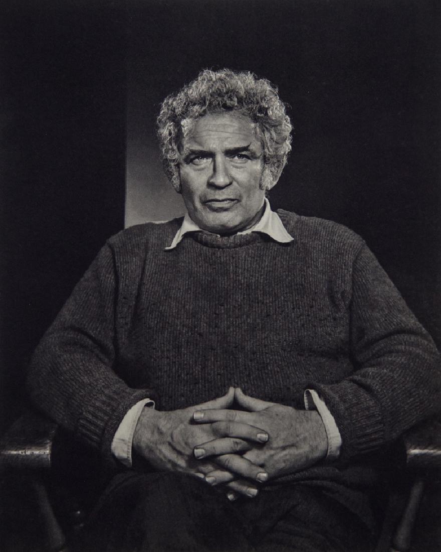 YOUSUF KARSH - Norman Mailer