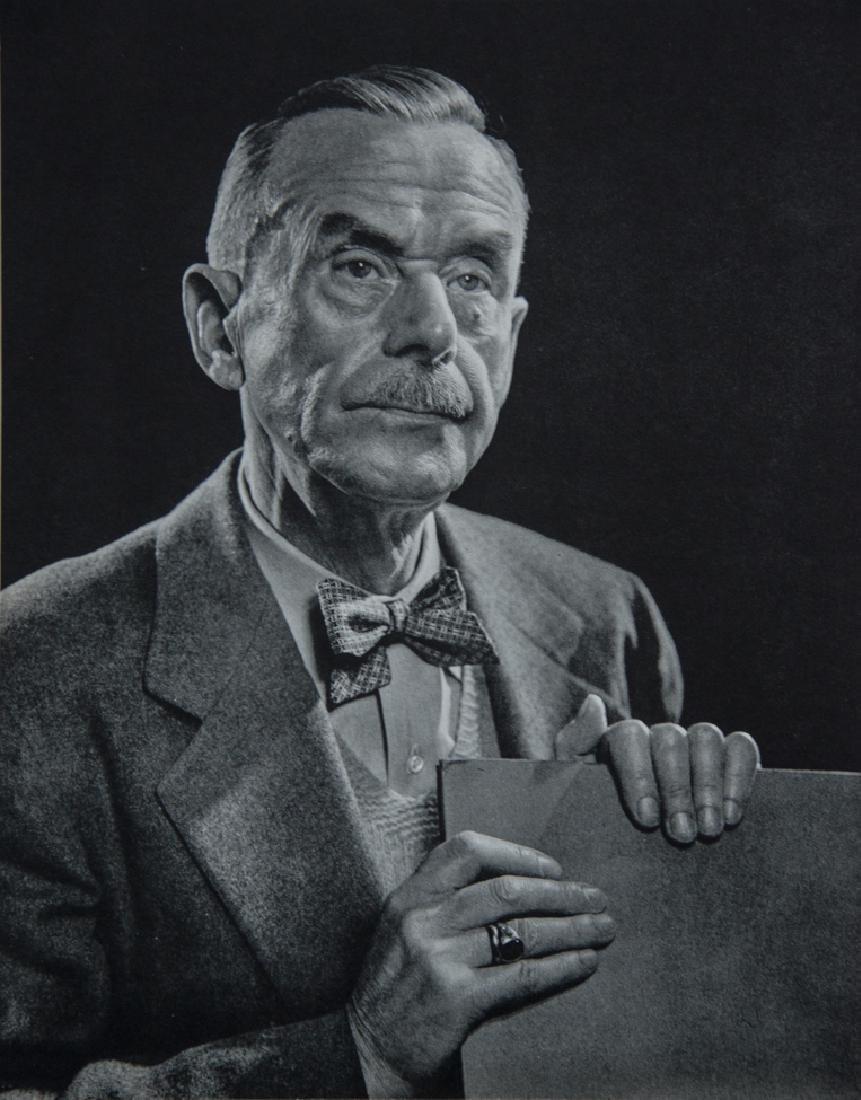 YOUSUF KARSH - Thomas Mann, 1946