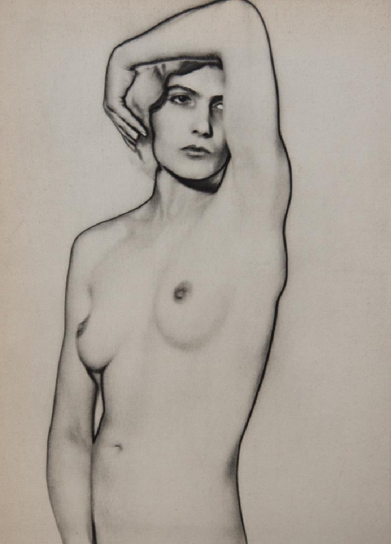 MAN RAY - Natacha, Solarized Nude