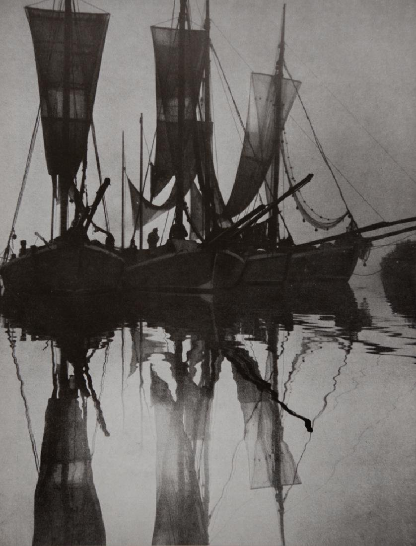 GERHARD VETTER - Boats at Dawn
