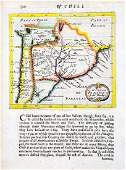 Morden: Antique Map of Chile and Paraguay, 1680